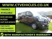 2016 16 Vauxhall Vivaro 1.6CDTi 120PS BiTurbo Sportive 2900 Sat/nav LWB L2H1 L2