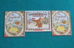 3 Primary/Jr Gingerbread Man and Friends Books