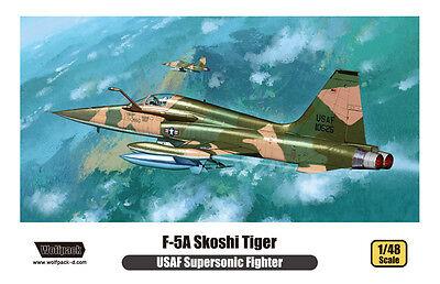WOLFPACK 14803 USAF F-5A Skoshi Tiger in 1:48