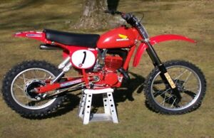 WANTED- Vintage motocross bikes 1976-1982