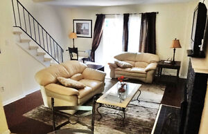 Rent 3/4 Bedroom Furnished Townhouse Short or Long Term