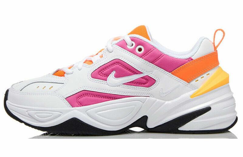 Nike M2K Tekno Women's Sportswear Shoes AO3108 104 White Laser Fuchsia NIB