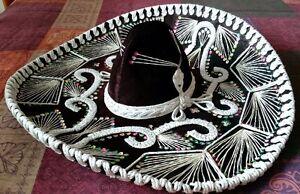 Vintage Pigalle XXXXX Mexican Sombrero - Gorgeous!