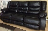 LEATHER SOFA AND LOVE SEAT $4,000 or OBO