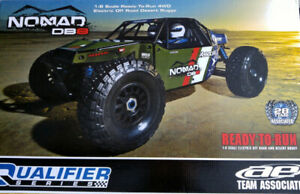 Team Associated Nomad DB8 4x4 rc truck