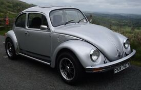 Limited Edition Silverbug Beetle (1982) For Sale