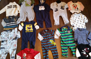 12-Month Size Baby Clothes - 18 Items - $50