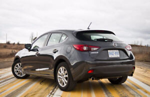 Mazda3 Hatchback - lease takeover - $270.63/month (tax in)