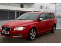2010 Volvo V70 2.0D R DESIGN SE 5dr RARE PASSION RED 10 SERVICES ESTATE Diesel