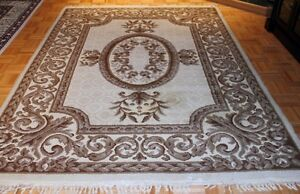 Tapis 100% laine / 100% wool carpet 6' x 9'