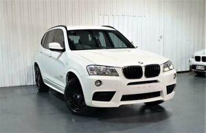 2012 BMW X3 F25 MY1011 xDrive20d Steptronic White 8 Speed Automatic Wagon