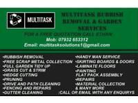 Rubbish Removal / Garden Services / Free Scrap Metal Collection