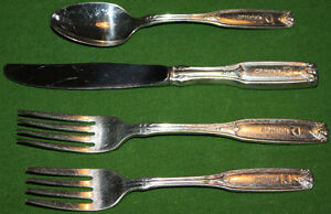 CP HOTELS FORKS,SPOONS & KNIFES