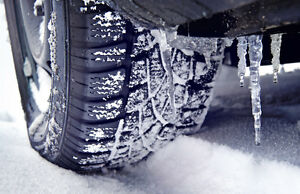 Get your car ready for winter - WINTER TIRES - BRAKES 50% OFF
