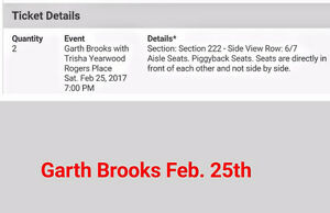 Garth Brooks - Saturday, Feb. 25th