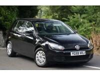 Volkswagen Golf 1.4 ( 80ps ) 2009MY S Black 5 Door New shape.