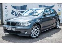 2007 BMW 1 SERIES 118I SE 5 DOOR FULL SERVICE HISTORY NEW MOT 2 KEYS PARKING SEN