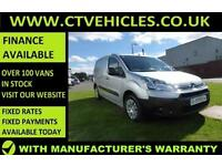 2014 14 Citroen Berlingo 1.6HDi L1 Enterprise A/C 3 X SEATS, WARRANTY top spec