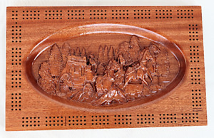 3D Carved Cribbage Boards and Signs