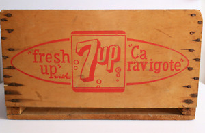 Wooden 7-Up Crate