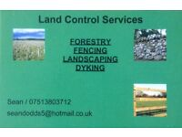 Work Wanted! Forestry Fencing Landscaping Dyking