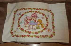 Vintage Strawberry Shortcake PILLOW CASE