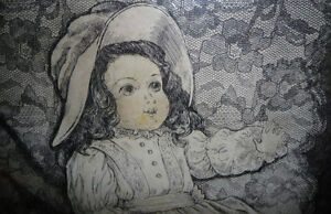 "Dundas Artist Helen Ness, ""Last Doll #2""   L/E 15/15,1980 Stratford Kitchener Area image 10"