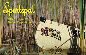 Sportspal 12 ft Pointed Canoe **Weight 34 lbs**