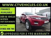 2014 Land Rover Range Rover Evoque 2.2SD4 90bhp 4X4 Pure TECHPACK PANORAMIC ROOF