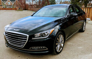 2017 Genesis G80 Ultimate 5.0L V8 AWD 14500km 100K Full Warranty