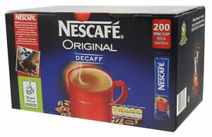 Nescafe Decaff / Decaf - Sachets - Instant Coffee 200 Stick