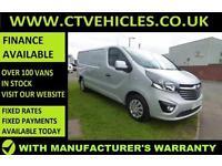 2016 16 plate Vauxhall Vivaro 1.6CDTi Sportive 2900 L2H1 LWB A/C SILVER Van