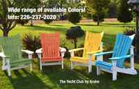 Outdoor Polywood Chairs by Krahn