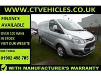 2015 65 plate Ford Transit Custom 2.2TDCi 125PS 290 Limited A/C Alloys cruise