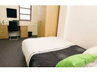 STUDENT ROOMS TO RENT IN MANCHESTER. PREMIUM FLATS WITH DOUBLE BED PRIVATE ROOM