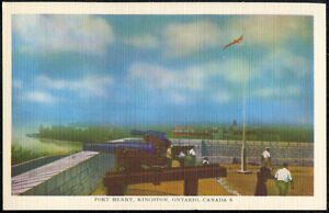 Twelve Early 1950s Vintage Unused 'KINGSTON, Ontario' Post Cards Kingston Kingston Area image 9
