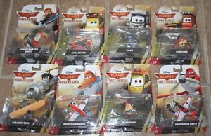 Lot of 8 Disney Fire & Rescue diecast toys NEW