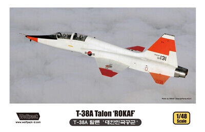 Wolfpack 1/48 Unassembled/unpainted Kit - T-38A Talon ROKAF Wolfpack - WP10003 for sale  Cape Coral