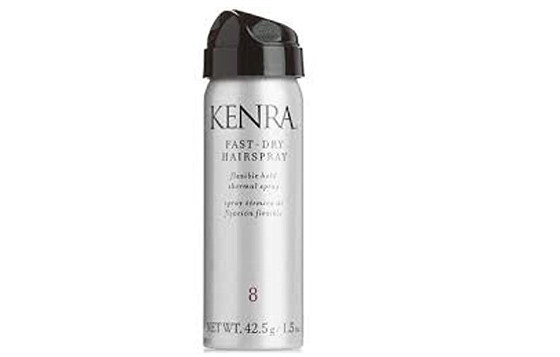 Kenra Fast Dry Hairspray # 8 Thermal Spray 1.5oz Travel Flex