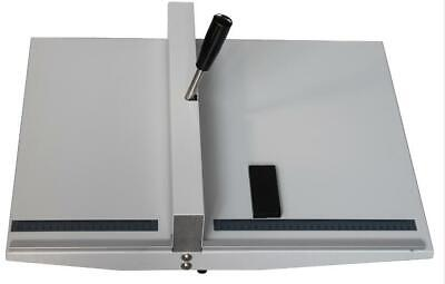 A3 Manual 18460mm Scoring Paper Creasing Machine Fold Creaser Clean Folding