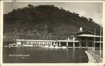 Quitandinha Brazil Real Photo Postcard - Used