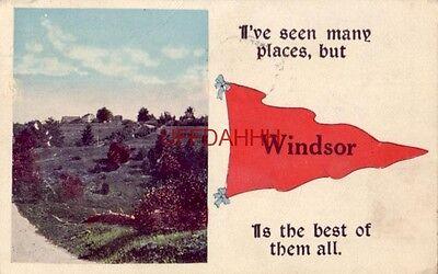 1920 No 681-32 Des. Landscape Pennants WINDSOR IS THE BEST OF THEM