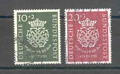 Germany - Complete Set of Year 1950 VF used (J.S.Bach Anniversary of the Death)