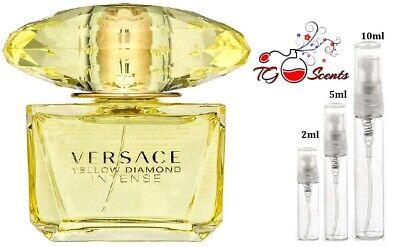 Versace Yellow Diamond VARIOUS SAMPLES 100% GENUINE Travel Spray