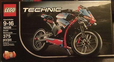 Flawless Box 42036 Lego Technic Street Motorcycle Never Opened Bike Chopper