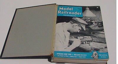 MODEL RAILROADER MAGAZINE BOUND VOLUME #17 FEBRUARY TO DECEMBER 1950 900+PAGES