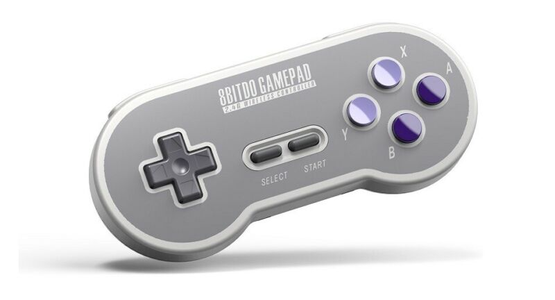 8Bitdo SN30 2.4G Wireless Controller for SNES Classic Edition