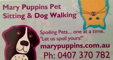 Mary Puppins Pet Sitting and Dog Walking-Brisbane North Stafford Heights Brisbane North West Preview