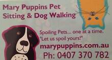 Mary Puppins Pet Sitting and Dog Walking Cordeaux Heights Wollongong Area Preview