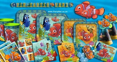 Disney Finding Nemo Birthday Party Supplies,Tableware & Decorations(Imported)